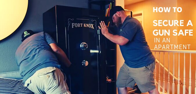 How to Secure a Gun Safe in An Apartment